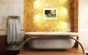 Marble Mirror TV Line
